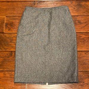 LOFT Wool Blend Pencil Skirt Size 10